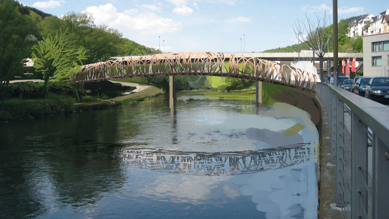 Altena - Brücke über die Lenne