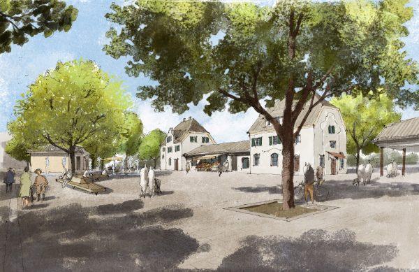 1. Platz für Silands: Bahnhofsplatz Herrsching