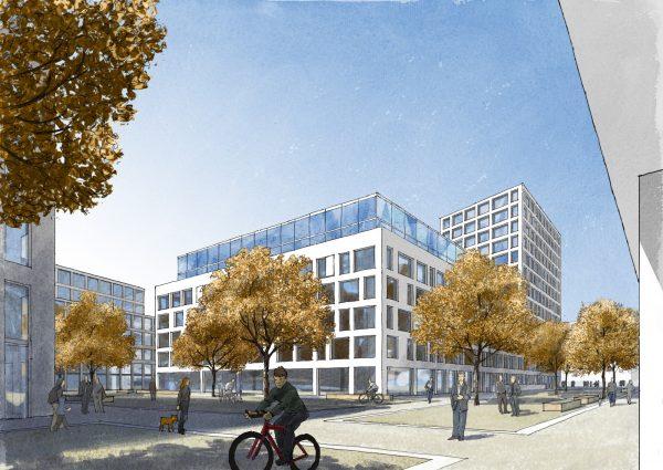 3. Preis für ACMS Architekten im Wettbewerb Sachsenstraße Essen